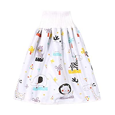 XSHH Comfy Children's Adult Diaper Skirt Shorts (C, M)
