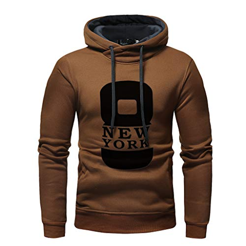 Why Choose Mens Hoodie,Men's Autumn Winter Digital Printing Long Sleeve Hooded Sweatshirt Tops Tra...