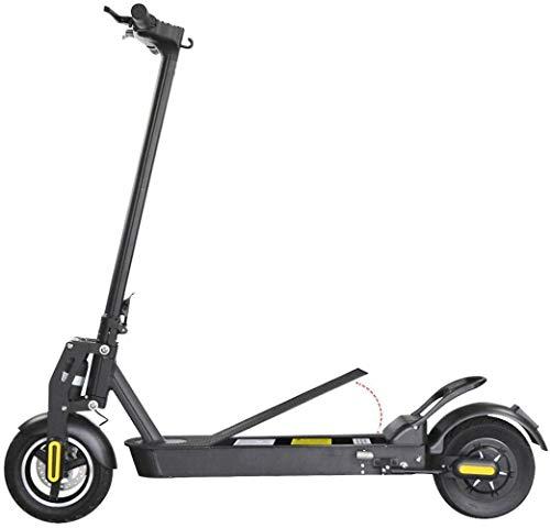 Woodtree Scooter eléctrico de 10 Pulgadas de aleación de Aluminio Plegable Bicicleta...