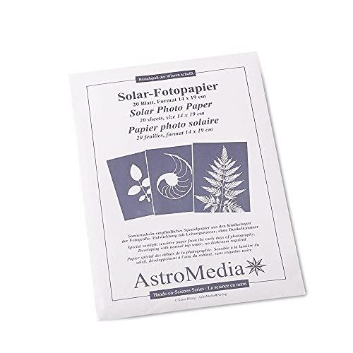 Astromedia Solar-Fotopapier 20 Blatt