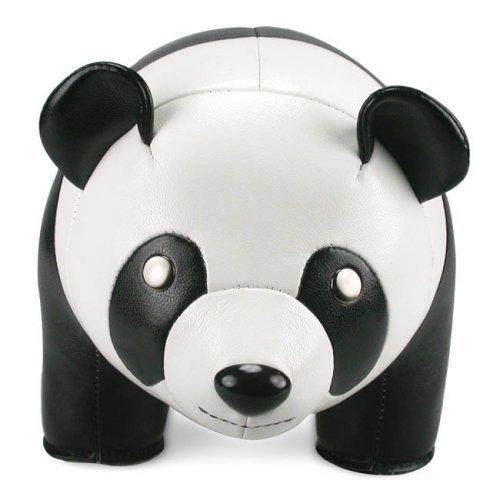 zueny Panda del Libro e porta Stopper grande in Bianco e Nero