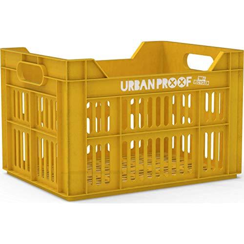 Urban Proof fahrradkiste 30 Liter Polypropylen gelb