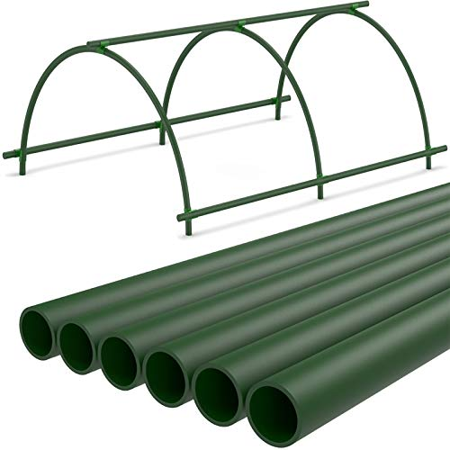 Greenhouse Hoops,Garden House Grow Support Hoops Tunnels for Plant Cover Growing Frame (1Pack)
