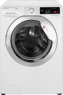 Hoover Dynamic Next DXOA410C3 10Kg Washing Machine with 1400 rpm - White / Chrome