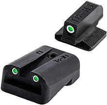 Tritium Handgun Glow-in-the-Dark Night Sights for Kimber Pistols, Kimber 1911 Models with Fixed Rear Sight