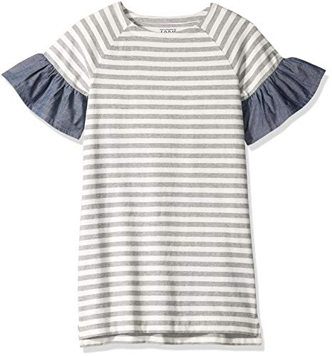 Marca Amazon / J. Crew - LOOK by crewcuts Vestido de manga ancha para niñas