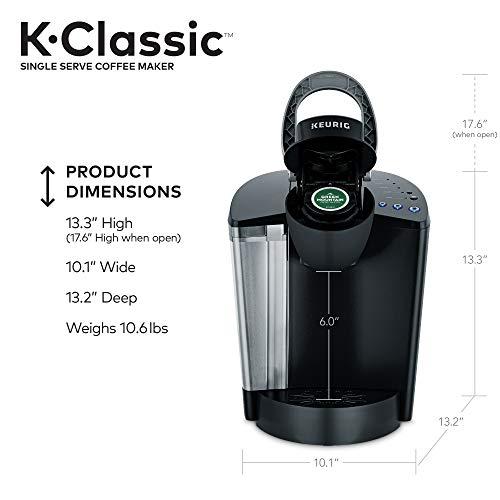 Keurig K-Classic Single Serve Coffee Maker, Black
