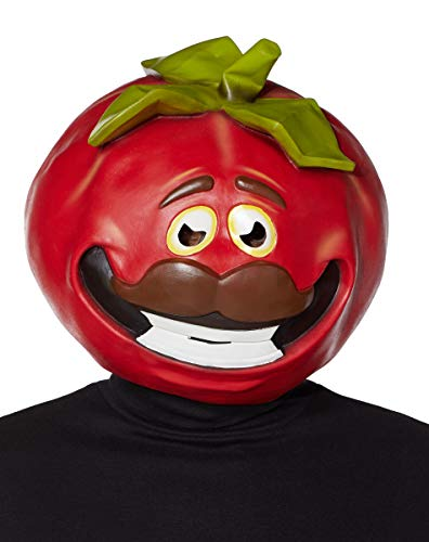 Latex TomatoHead Fortnite Mask Deluxe - Officially Licensed