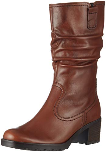 Gabor Shoes Damen Comfort Sport Hohe Stiefel, Beige (Caramello (Mel.) 13), 40 EU