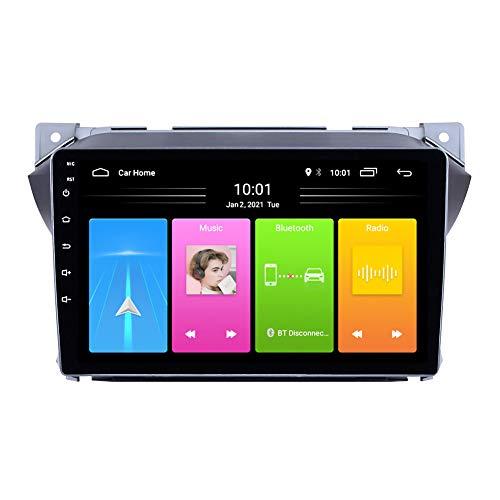 Kilcvt Navegación GPS De 9 Pulgadas Android 10 Reproductor Multimedia para Automóvil, para Suzuki Alto 2009-2017 Soporte Control del Volante/WiFi/Llamadas Manos Libres Bluetooth,4g WiFi: 1g 32g