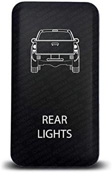 CH4x4 Toyota Push Switch Fog  Ligths Symbol Red LED