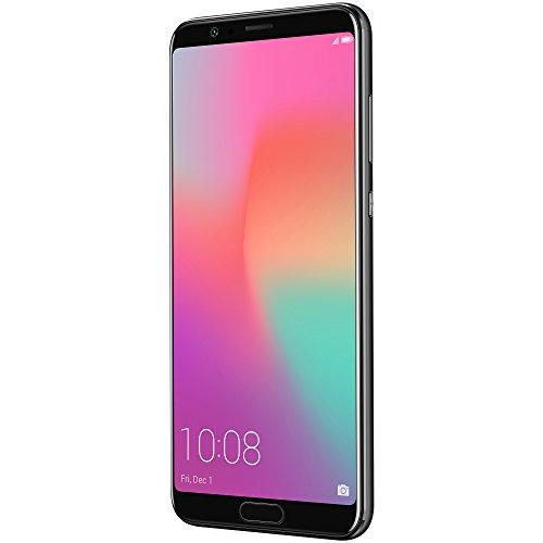Honor View10 GSM Unlocked Smartphone, AI Processor, 5.99 FullView Display, 20MP + 16MP Dual-Lens AI Camera, Dual SIM 4G, Fast Charging, 6/128 GB, Black (US Warranty)