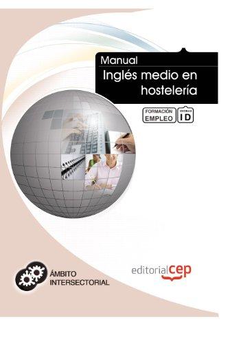 Manual Inglés medio hostelería. Formación empleo