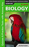 A Level Biology MCQs: Multiple Choice Questions and Answers (Quiz & Tests with Answer Keys)