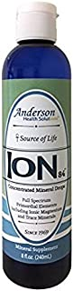 Anderson's Health Solutions ION84 Concentrated Mineral Drops 8 fl. oz. Full Spectrum Primordial Elements Including Magnesium and Trace Minerals