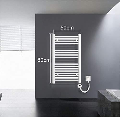 Thermostat Digital Mural Haverland XTAL4B 400 W Radiateur s/èche Serviettes /électrique Blanc Panneau en Verre