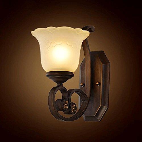 Wddwarmhome Chambre à coucher tête de lit lampe décorative décorative, E27