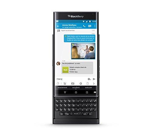 BlackBerry PRIV 32GB 4G Schwarz - Smartphones (Android, Single SIM, NanoSIM, EDGE, GPRS, GSM, HSPA+, LTE)