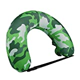 Cocopa Swimming Floats for Kids Swim Belts Adults,Portable Inflatable Neck Pillow for Airplane Travel, Kids Swimming Kick Boards Flotation Device Neck Back Float Swimming Aids for Children
