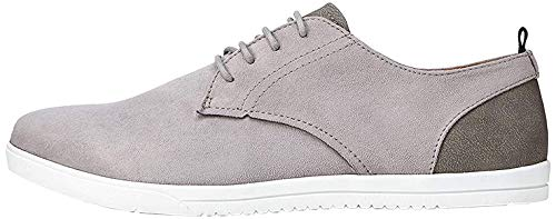 find. Mendel Sports Zapatos de Cordones Derby, Gris Grey, 39/40 EU