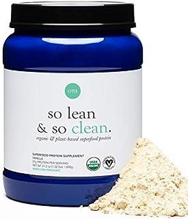 Ora Organic Vegan Protein Powder - 21g Plant Based Protein Powder for Women and Men | Keto Friendly, Gluten Free, Paleo, D...