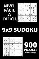 Sudoku - Nivel fácil a difícil: Sorprendentes 900 rompecabezas de Sudoku con Soluciones - Juego de Sudoku para principiantes o jugadores avanzados - Libros de rompecabezas de Sudoku para adultos para mantenerte ocupado y siempre concentrado
