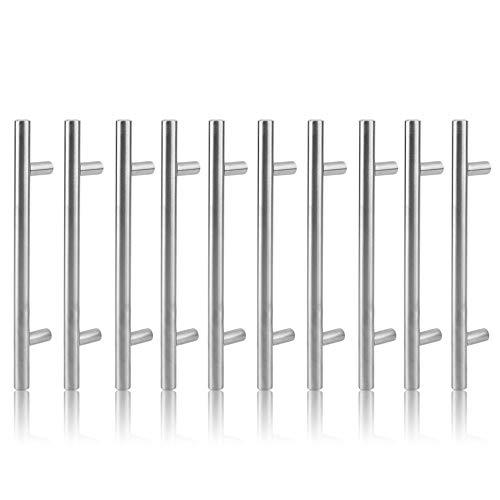 Bubbry 10 x 12 mm roestvrij staal T-handvat deur voor kasten lade trekken greep