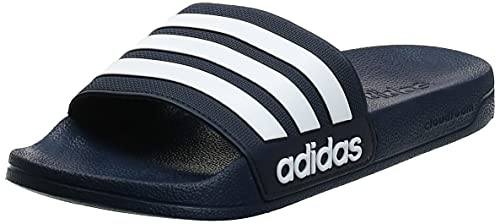Adidas Adilette Shower, Scarpe da Squash Uomo, Blu Conavy Ftwwht Conavy Conavy Ftwwht Conavy, 43 EU