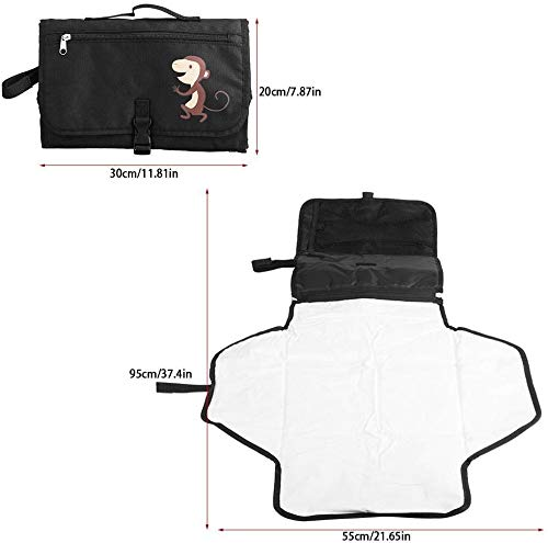 Draagbare baby luier veranderen pad met mesh tas peuters zuigelingen waterdichte opvouwbare mat voor thuis reizen buiten