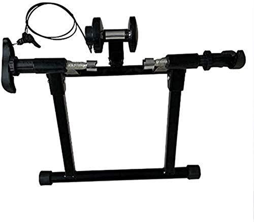 Lanrui Bici MTB Inicio clásico Bicicleta Plegable Trainer silencioso Smooth Gran compatibilidad for Todas Las Estaciones de Formación Acondicionado Fitness y Ejercicio Bike