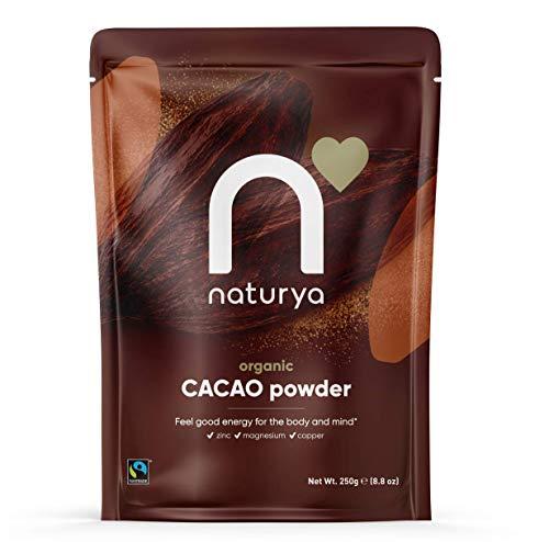 Naturya Fairtrade Organic Cacao Powder, 250g