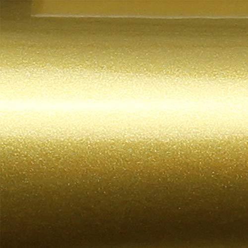 TipTopCarbon 9,99€/m² Möbelfolie Gold Glanz Klebefolie 2m x 60cm Selbstklebende Plotterfolie glänzend