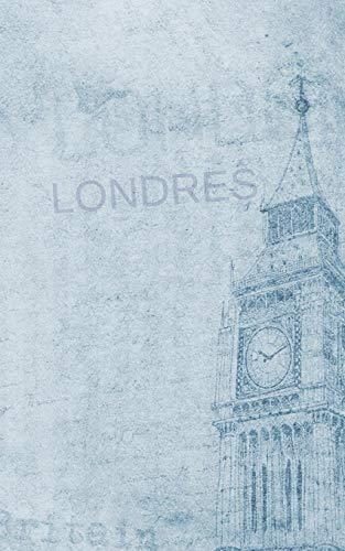 LONDRES: DIARIO DE VIAJE. EDICIÓN ESPECIAL BOLSILLO. CUADERNO DE REGISTRO DE HOTELES, VUELOS, LISTA DE EQUIPAJE Y LUGARES A VISITAR. INCLUYE ADEMÁS ... O MEJORES MOMENTOS Y DATOS DE INTERÉS.