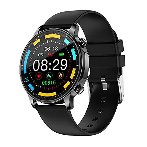 V23 moda pantalla redonda reloj inteligente mujeres ritmo cardíaco oxígeno IP67 impermeable clima fitness pista smartwatch