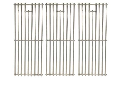 Replacement Stainless Steel Cooking Grid for Perfect Flame 720-0335, 730-0335, Ducane 3040004 & BBQ Galore XG4TBWN Gas Grill Models, Set of 3