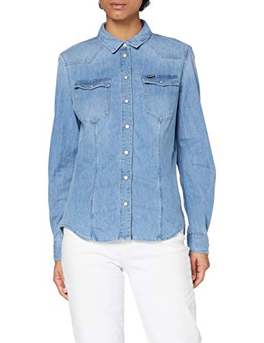 G-STAR RAW King Mike tee Blusa, Azul (Medium Aged 8197/071), X-Large para Mujer