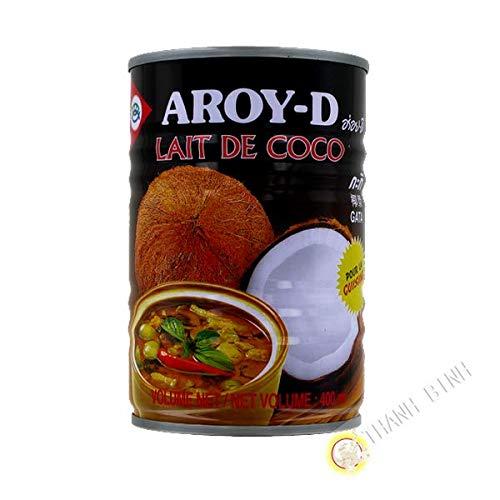 Latte di cocco per cucinare AROY-D 400ml Thailandia - Confezione da 6 pz