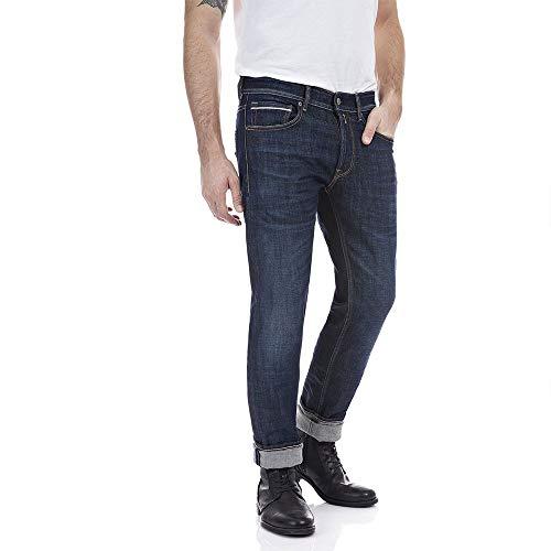 Replay Herren Grover Jeans, 7 Dark Blue, 31/32