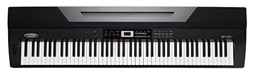 Classic Cantabile SP-150 BK piano de escenario en color negro