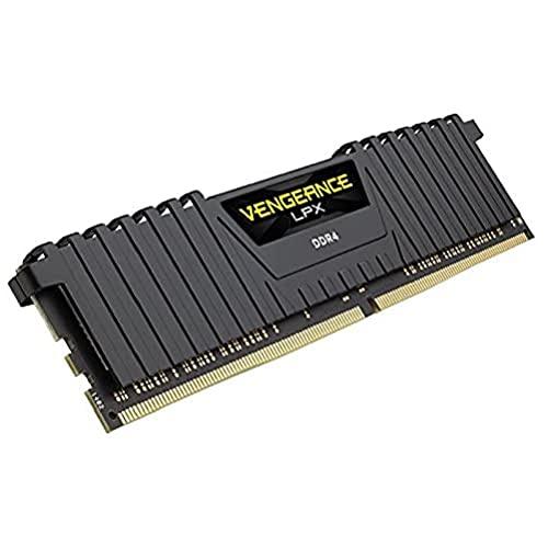 Corsair Vengeance LPX 64Go 4x16Go DDR4 3000MHz C16 XMP 2.0 Kit de Mémoire Haute Performance Black