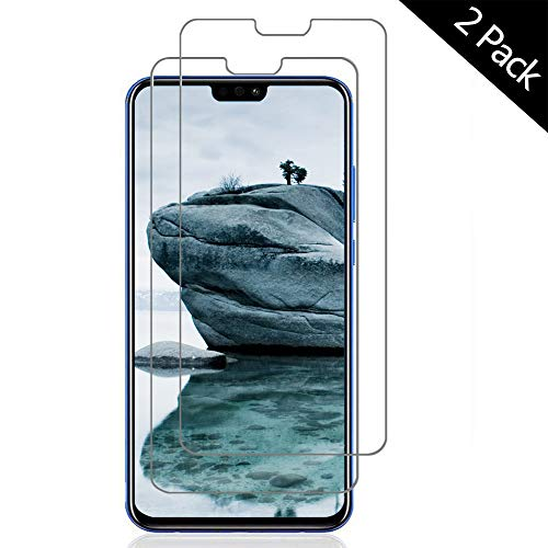 OUJD Protector Pantalla para Huawei Honor 8X ( Paquete de 2 ) - Huawei Honor 8X, Cristal Vidrio Templado Premium