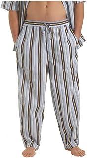 سروال رجالي نوتيكا ملابس نوم الإبحار مخطط منسوج