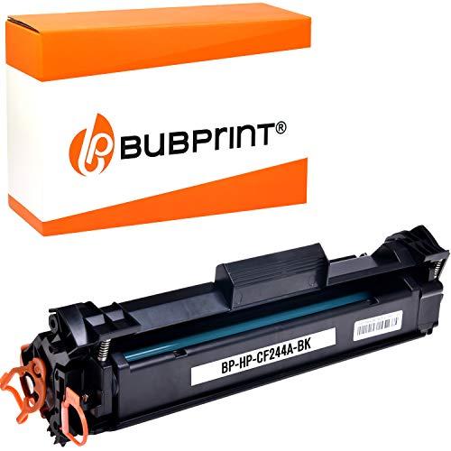 Bubprint Toner kompatibel für HP CF244A 44A für Laserjet Pro M15 M15a M15w M17 M17a M17w MFP M28 M28a M28w M30 M30a M30w 1.000 Seiten Schwarz Black