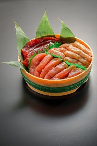 小針水産 魚卵 三色 [たらこ(300g) 筋子(200g) 明太子(300g)] セット