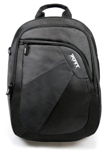 41EXX387NsL - Port Meribel - Mochila para Ordenador portátil hasta 39,6 cm (15,6 Pulgadas) Negro