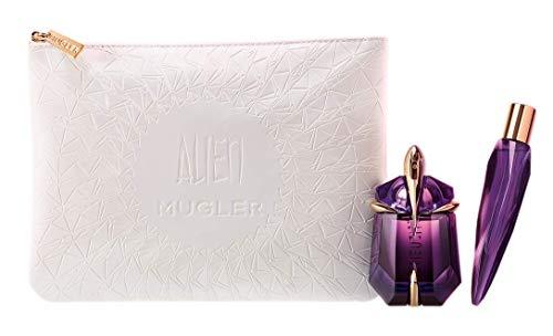 Mugler Alien Couture Set Nachfüllbar Eau de Parfum Spray 30 ml + Eau de Parfum 10 ml + Pouch (1er Pack)