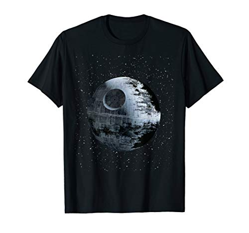 Star Wars Death Star Alone In A Crowd of Galaxies T-Shirt