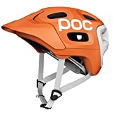 POC Trabec Race - Casco para ciclista, color blanco (white/orange) - 51-54