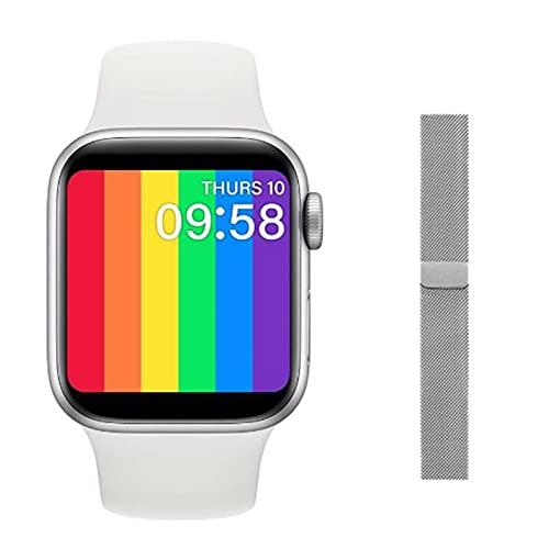 ZGNB Smart Watch, T900 Pulsera Inteligente para Hombres y Mujeres, Adecuada para teléfonos Android de iOS PK X6 T500 T48,E