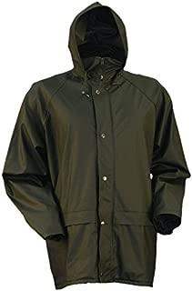 Stormhide Down Pour PVC/Poly Blend Rain Jacket, Green